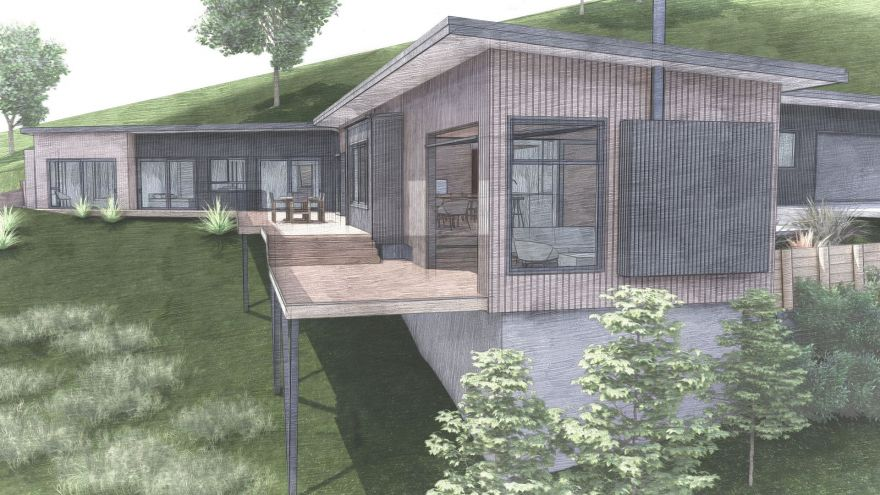 Hillside Home Design Direction