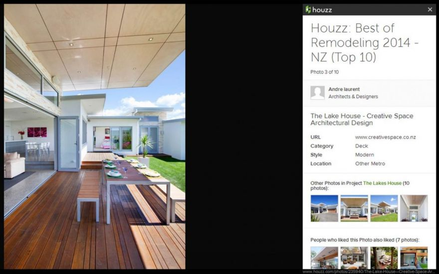 "Houzz Announces ""Best Of Houzz 2014"" Winners"