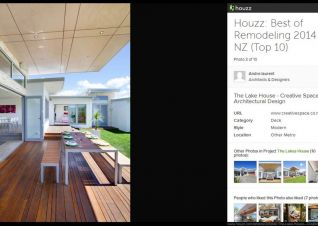 "Houzz Announces ""Best Of Houzz 2014"" Winners"