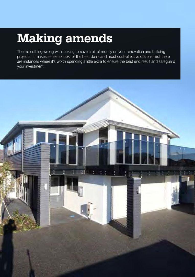 Building Insite Magazine - Making Amends