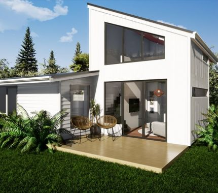 Addition Clip-On Extends Bungalow